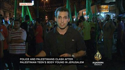 Nick Schifrin reporting at start of Gaza conflict.
