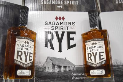 Sagamore Spirit will debut its Cask Strength Rye Whiskey later this month.