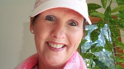 Lynne Blom, a Sykesville native who now lives in Glenelg, will be participating in the Making Strides walk to raise money for breast cancer research and treatment on Sunday, Oct. 21, at Watkins Park in Mount Airy.