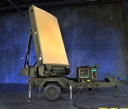 The AN/TPS-80 Ground/Air Task Oriented Radar - or G/ATOR - being developed and produced by Northrop Grumman Electronic Systems in Linthicum. Image courtesy of Northrop Grumman.