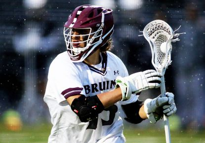 Broadneck's Sam Kelley in action during a game against Severna Park on May 7. Kelley and the Bruins offense were steady Friday night in beating Arundel, 11-7.
