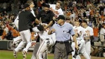 Orioles celebrate