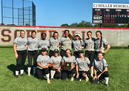 Top-seeded North County softball captured the Class 4A East Region I title with a 10-0 win over No. 2 seed Howard Saturday afternoon.