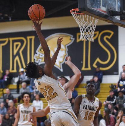 John Carroll's Jeannot Basima, shown here in action from last season, scored 15 points in Wednesday night's loss to Mount St. Joe.