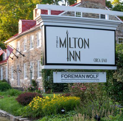 The exterior of the Milton Inn.