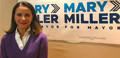 Mary Miller, a former T. Rowe Price executive and U.S. Treasury official, is a candidate for mayor of Baltimore in April's Democratic primary.