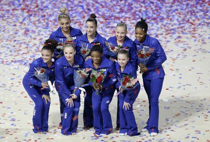 With unparalleled depth and intense training, U.S. gymnasts should be good as gold