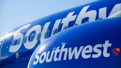 Southwest Airlines is issuing travel vouchers for customers flying into or out of Baltimore this week.