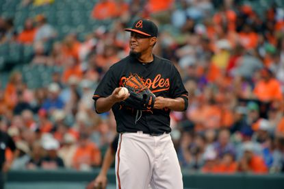Facing early exit, Orioles pitcher Yovani Gallardo reversed fortunes after rocky first inning