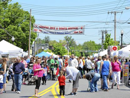 Thousands of people attended the annual Arbutus Arts Festival last year.
