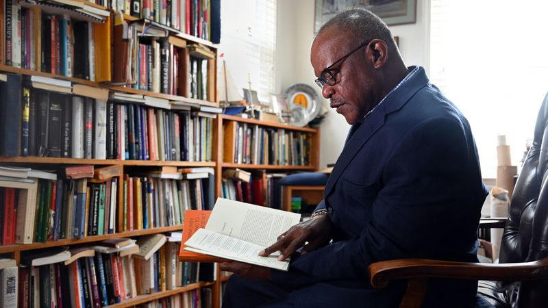 Black History Month Image of Dr. Alvin Hathaway