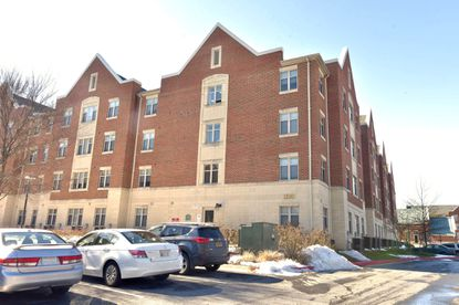 A Morgan State student was fatally stabbed Monday night at Morgan View apartments (pictured).