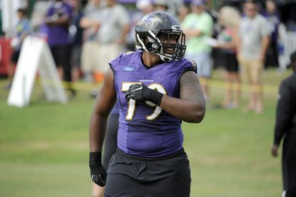 Elvis Dumervil limited for second straight day, Ronnie Stanley practiced fully on Thursday