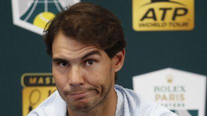 Rafael Nadal pulls out of Paris Masters; will lose No. 1 ranking