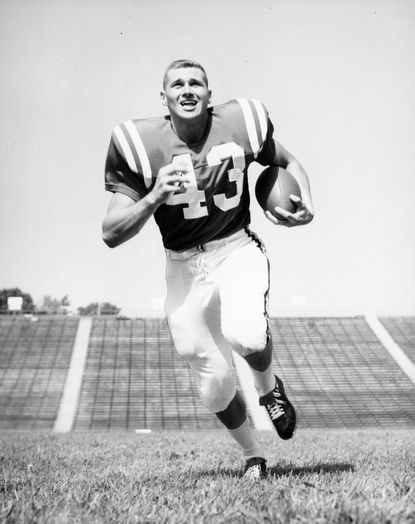 Former Terps football star Tom Brown later played football for the Green Bay Packers and baseball for the Washington Senators.