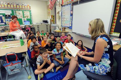 According to a new survey, teachers in Montgomery County start out at a higher pay scale, but when their lifetime pay and the cost of living in their district is considered, they will fall behind Anne Arundel County teachers.