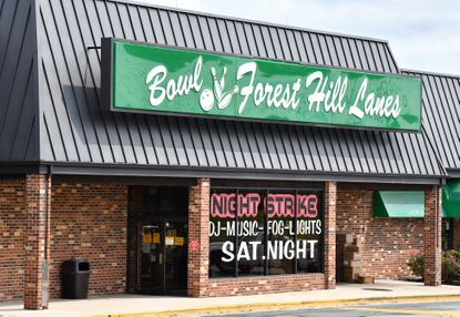 Forest Hill Lanes bowling alley was hoping to host a high school bowling league, but no one signed up.