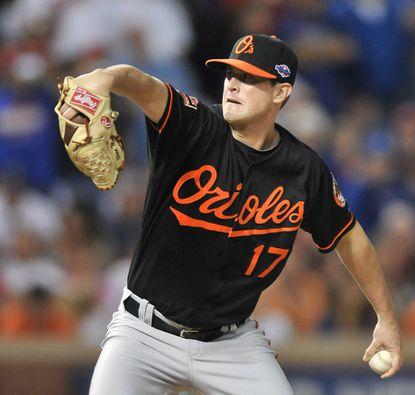 Brian Matusz thrived out of the bullpen in the playoffs, including a key strikeout of Josh Hamilton in the Orioles' wild-card victory over the Rangers.