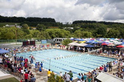 The 2017 Straehle Invitational Championships Swim Meet at Carroll Aquatics Swim Club at Four Seasons Sports Complex in Hampstead on Wednesday, July 26, 2017.