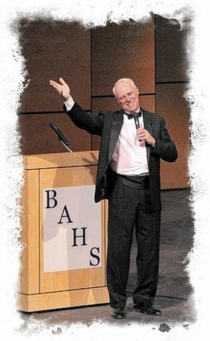 These days, Bel Air Community Band director Scott Sharnetzka wears a tux when he directs the 90-member band at concerts.