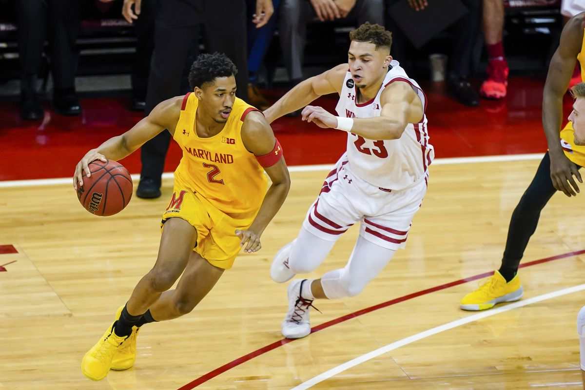 After losing shooting touch, Maryland's Aaron Wiggins rediscovers it in a losing cause at Wisconsin