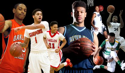 The Howard County All-Decade boys basketball team, featuring players who played between the 2009-10 and 2019-20 seasons.