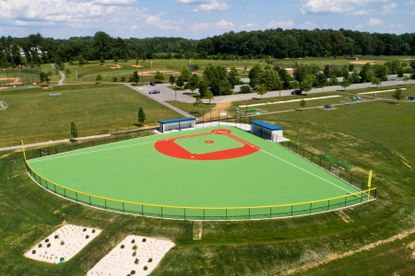 Miracle League of Harford County Ball Field is a beauty.