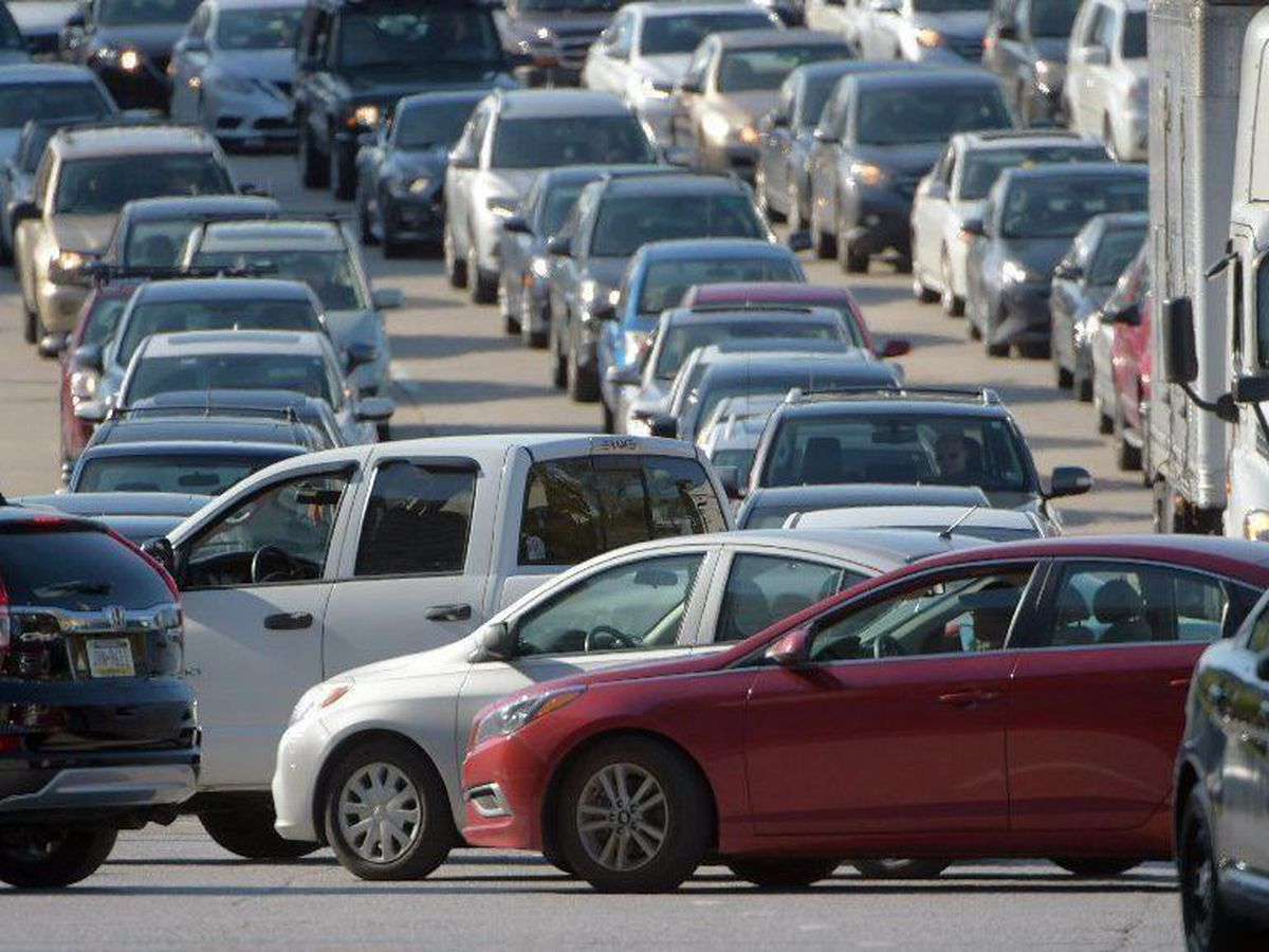 Downtown Baltimore streets in gridlock after changes to