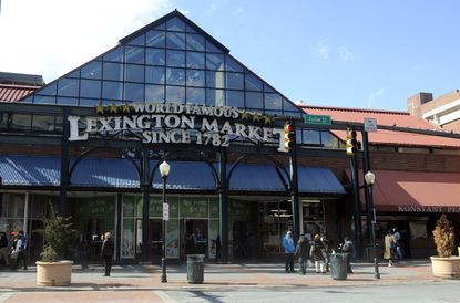 Lexington Market usually closes for business at 6 p.m. But the historic market is staying open late on Wednesday.