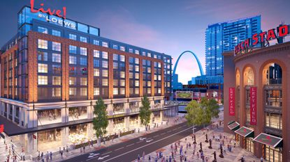 The Cordish Cos. and Loews Hotels are planning a new $65 million Live! by Loews hotel in St. Louis.