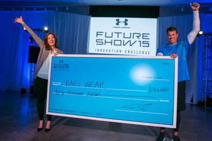 RaesWear, developed by Leigh Cockram, won Under Armour's Future Show Innovation Challenge.