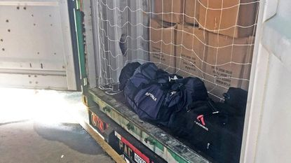 Customs and Border Protection over 300 pounds of cocaine in Baltimore.