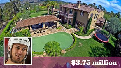 Professional hockey player Ryan Getzlaf's $3.75-million sale in Tustin is the most expensivetransaction in the O.C. community since 2014.