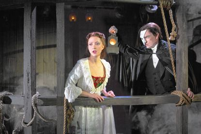 Revamped 'Phantom' a stylish fit at the Hippodrome