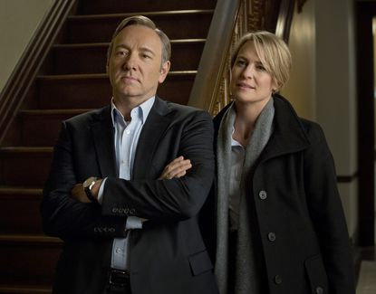 """Kevin Spacey and Robin Wright star in """"House of Cards,"""" one of the online series in 2013 that is changing the way we watch TV."""