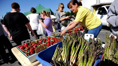 The Bel Air Farmers Market is a community gathering place and one of the Town of Bel Air's ongoing sustainability initiatives.
