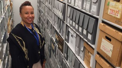 Lela J. Sewell-Williams is the new manager of the Columbia Archives, taking over with the retirement of Barbara Kellner last month.