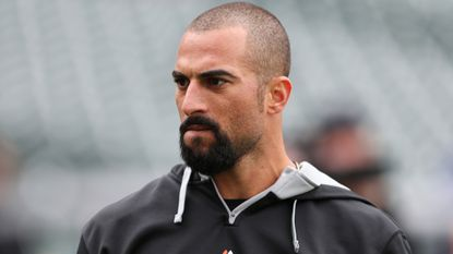 The trade of Jason Heyward from the Atlanta Braves to the St. Louis Cardinals might have opened up a new spot for free-agent right fielder Nick Markakis, pictured.