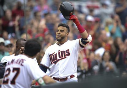 Minnesota Twins designated hitter Nelson Cruz has helped his hometown of Las Matas de Santa Cruz in the Dominican Republic build a police station and a medical clinic, and acquire a fire truck and firefighting gear, as well as an ambulance.