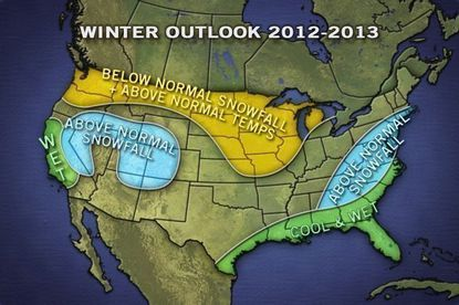 AccuWeather is predicting above-normal snowfall for Baltimore and the northeast this winter.