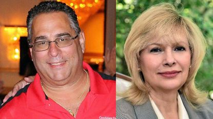 """Republican Republican Tony """"G"""" Giangiordano, left, and Democrat Karen Kukurin, right, are vying for the greater Bel Air area District C seat on the Harford Couty Council in the November general election. The seat is open for the first time in 12 years."""