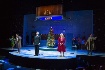 A scene from 'It's a Wonderful Life: A Live Radio Play' at Center Stage.