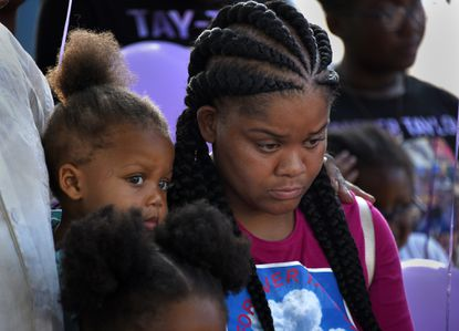 'Come on baby girl!' As trial begins, Baltimore officer recounts finding 7-year-old Taylor Hayes fatally shot