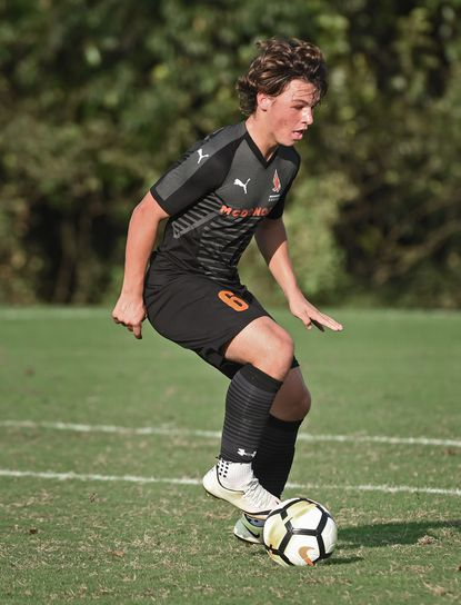 McDonogh's Richie Nichols helped the Eagels to an MIAA A Conference championship last season.