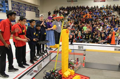Robots To Battle At Carroll County Ag Center In First Tech Challenge March 1 Carroll County Times