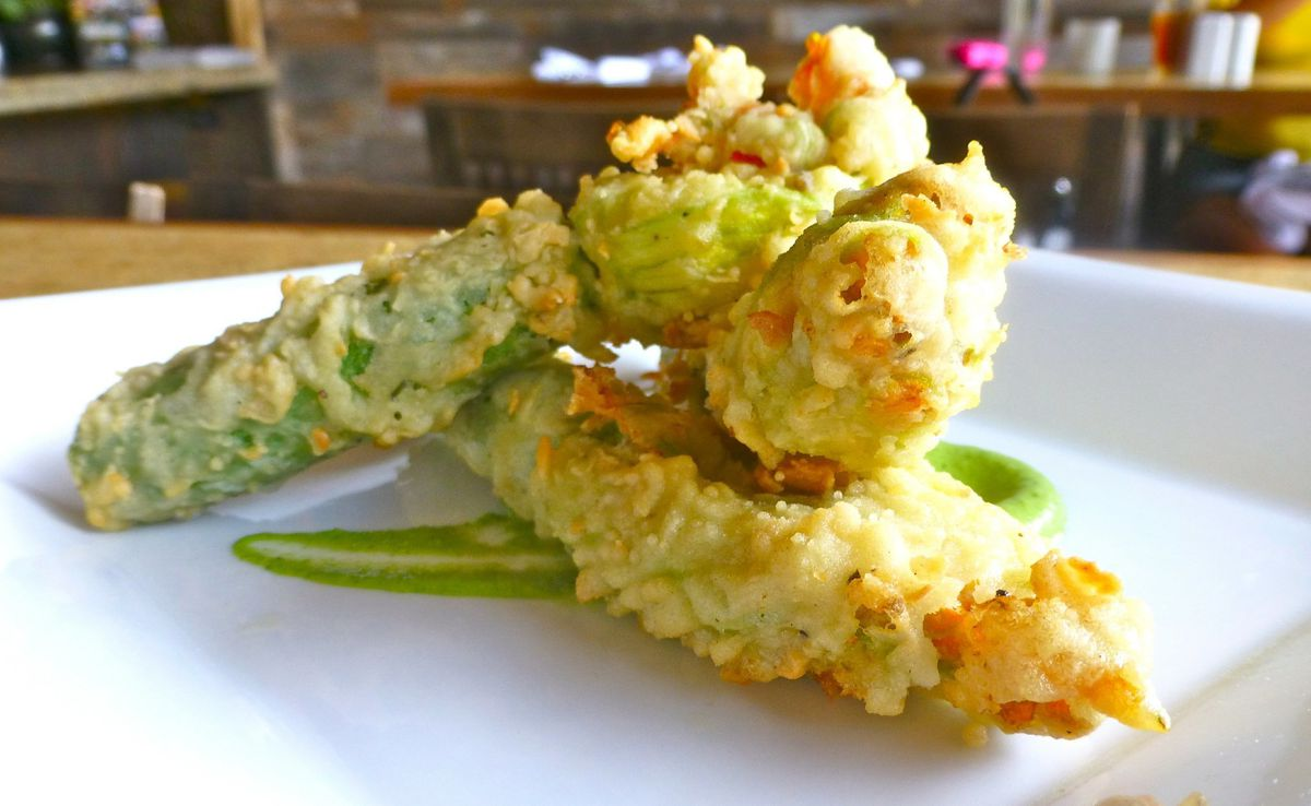 Chef S Cheese Filled Squash Blossoms Baltimore Sun