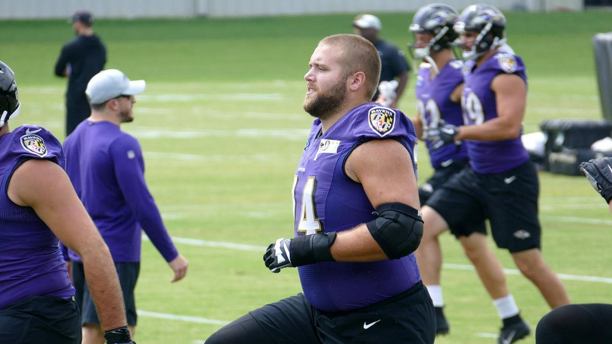 Experience led to James Hurst overtaking Orlando Brown Jr. as ...