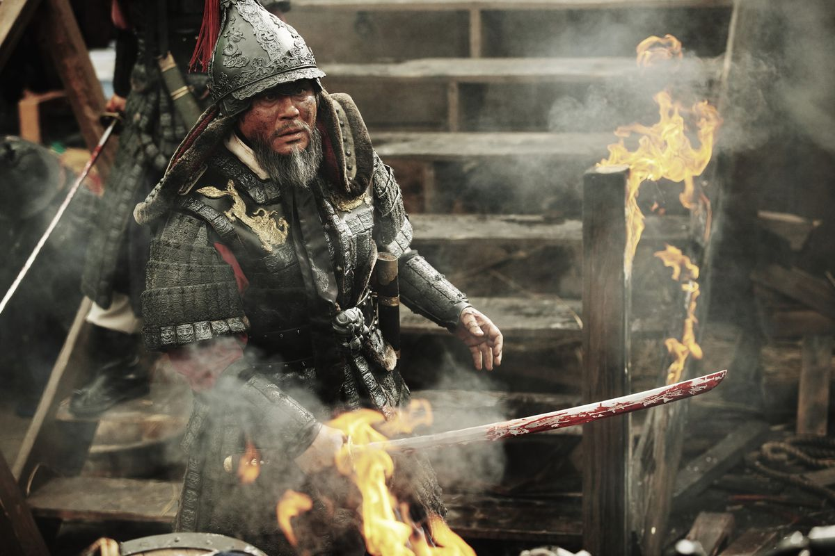 The Admiral: Roaring Currents' a thrilling look at sea battle - Baltimore  Sun
