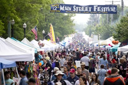 Main Street Festival is one of the festivals hosted by Laurel Board of Trade.