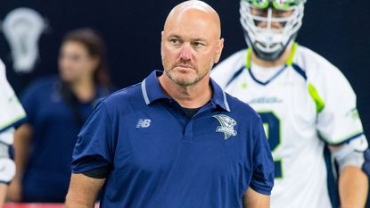 Chris Burdick was hired as the defensive coordinator for the Chesapeake Bayhawks.